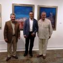 Enrique Avila junto a Ignacio Caraballo y Antonino Parrilla.