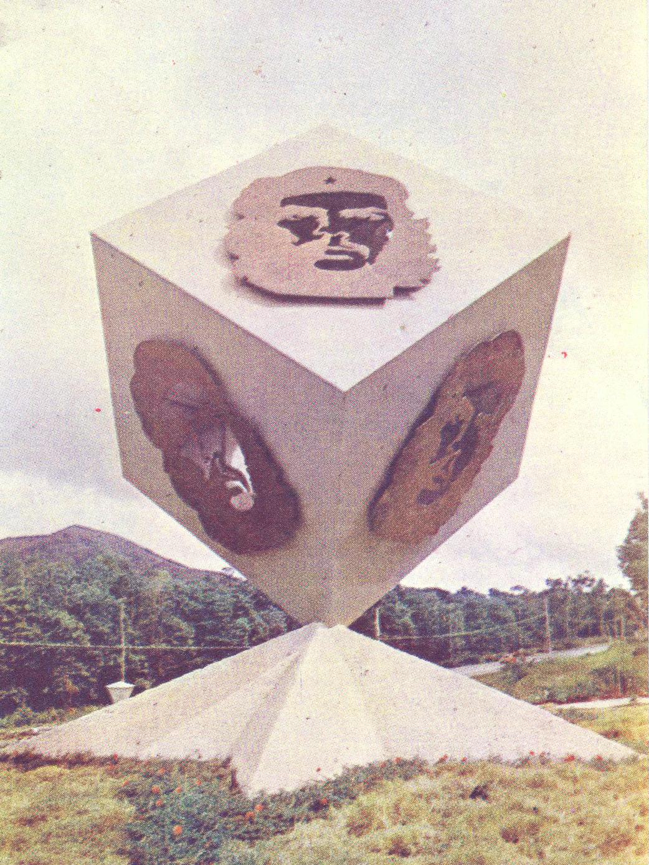 Monumento al Che en Holguín.