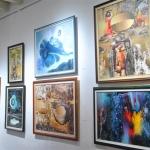 Algunas de las obras de Avila expuestas