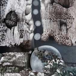 Amenaza (óleo y acrílico sobre tela  / 80 x 60 cm)