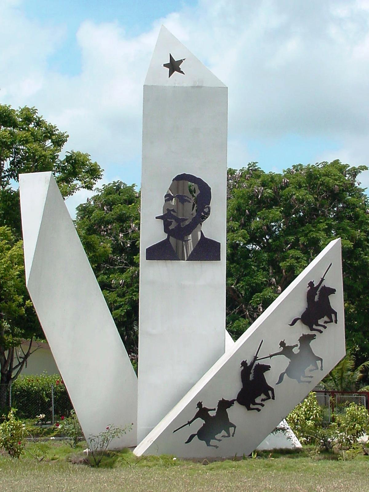 Monumento a Antonio Maceo Holguín.